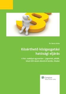 Boros Anita - Közérthető közigazgatási hatósági eljárás 2013 [eKönyv: epub, mobi]