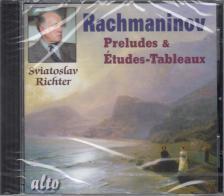 RACHMANINOV - PRELUDES & ÉTUDES-TABLEAUX CD SVIATOSLAV RICHTER