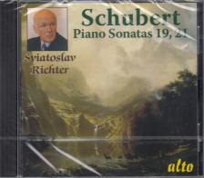 SCHUBERT - PIANO SONATAS D958, D960 CD SVIATOSLAV RICHTER