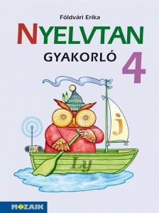 FÖLDVÁRI ERIKA - MS-1650  NYELVTAN GYAKORLÓ 4.