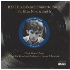 Bach - PIANO CONCERTO NO.1, PARTITAS NO.5,6 CD GOULD, BERNSTEIN, COLUMBIA S. O.