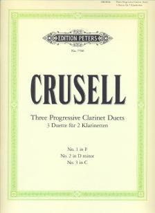 CRUSELL - THREE PROGRESSIVE CLARINET DUETS (COMPLETE)