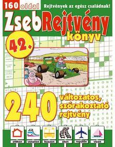 CSOSCH KIADÓ - ZsebRejtvény Könyv 42.