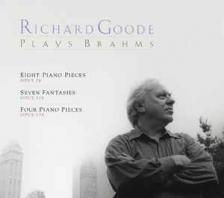 BRAHMS - RICHARD GOODE PLAYS BRAHMS CD