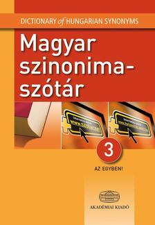 - Magyar szinonimaszótár 3 az egyben