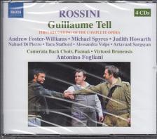 ROSSINI - GUILLAME TELL 4CD FOGLIANI