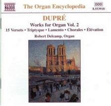 DUPRÉ, MARCEL - ORGAN WORKS VOL.2 15 VERSETS OP.18 CD