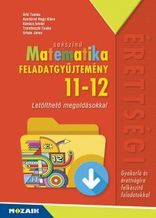 ÁRKI-KONFÁRNÉ - MS-2326 SOKSZÍNŰ MATEMATIKA FGY. 11-12. CD-MELLÉKLETTEL