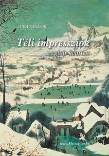 - Téli Impressziók - gitár kvartett