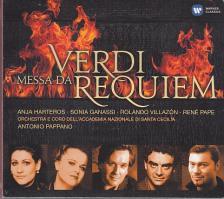 Verdi - MESSA DA REQUIEM 2CD PAPPANO, HARTEROS, GANASSI, VILLAZÓN, PAPE