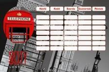 5964 - Órarend Geo City London 15392001