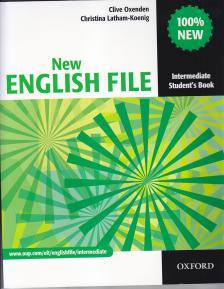 OXENDEN, CLIVE - NEW ENGLISH FILE INTERMEDIATE SB  NEW