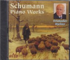 SCHUMANN - SCHUMANN - PIANO WORKS CD SVIATOSLAV RICHTER