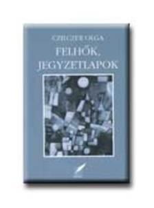 Czilczer Olga - Felhők, jegyzetlapok