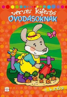 Fecska Csaba - Verses kifestő óvodásoknak - 4. rész
