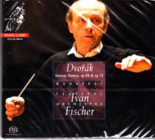 DVORAK - SLAVONIC DANCES SACD FISCHER IVÁN, BUDAPEST FESTIVAL ORCHESTRA