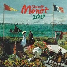 SmartCalendart Kft. - PG Naptár Claude Monet 2018, 30 x 30 cm