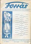 Hankiss János - Forrás 1943/március I. évf. 3. szám [antikvár]