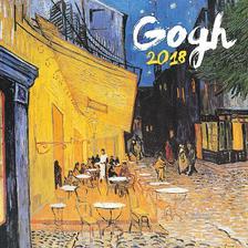SmartCalendart Kft. - PG Naptár Vincent van Gogh 2018, 30 x 30 cm