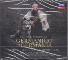 PORPORA - GERMANICO IN GERMANIA 3CD MAX EMANUEL CENCIC