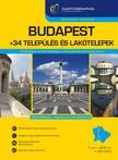 Budapest + 34 település és lakótelepek atlasz<!--span style='font-size:10px;'>(G)</span-->