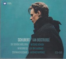 SCHUBERT - IAN BOSTRIDGE - SCHUBERT 3CD + DVD