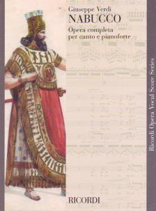 Giuseppe Verdi - NABUCCO OPERA COMPLETA PER CANTO E PIANOFORTE