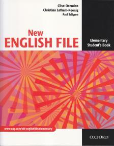 - NEW ENGLISH FILE ELEMENTARY SB