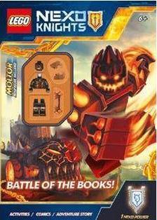 - LEGO NEXO KNIGHT - A könyvek csatája / ajándék minifigurával
