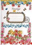 Rózsás zsebnotesz - Rózsalugas<!--span style='font-size:10px;'>(G)</span-->