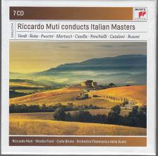 VERDI/ROTA/PUCCINI/MARTUCCI/CASELLA - RICCARDO MUTI CONDUCTS ITALIAN MASTERS 7CD