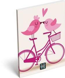 6841 - Notesz papírfedeles A/7 Love Cycle 16393804