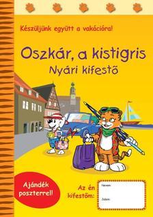 - Oszkár, a kistigris - Nyári kifestő