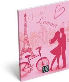 6843 - Notesz papírfedeles A/7 Love Lamour 16393806