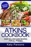 Parsons Katy - Atkins Cookbook [eKönyv: epub,  mobi]