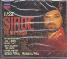 HASSE - SIROE RE DI PERSIA 2CD CENCIC, LEZHNEVA, FAGIOLI, PETROU