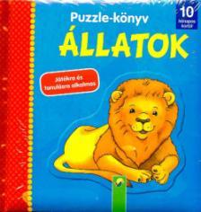Puzzle-könyv: Állatok