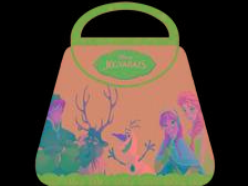- - Disney - Jégvarázs táskakönyv