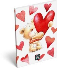6845 - Notesz papírfedeles A/7 Love Teddy 16393808