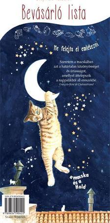 - A macska és a hold - Bevásárlólista