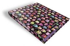 13376 - Gyűrűs könyv 2 gyűrűs Lollipop Dark Owl 17396122