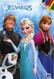 - Disney Jégvarázs - A4 színező