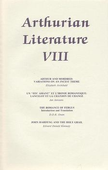 BARBER, RICHARD - Arthurian Literature VIII, [antikvár]