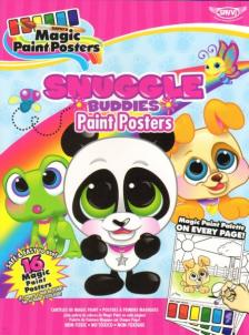 Trigo - Snuggle Buddies Paint Posters, kisállatok kifestő