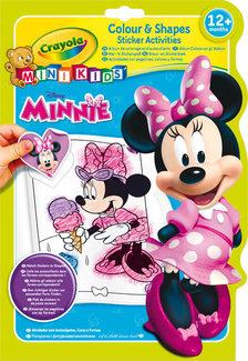 - Crayola Minnie egér Matricás és Színező album