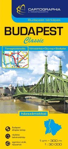 Cartographia Kiadó - Budapest Classic térkép