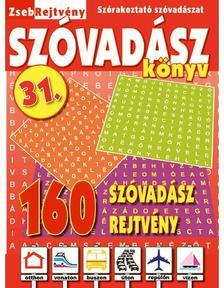 CSOSCH KIADÓ - ZsebRejtvény SZÓVADÁSZ Könyv 31.