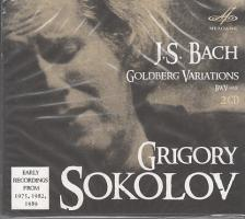 Bach - GOLDBERG VARIATIONS 2CD SOKOLOV