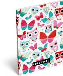 7536 - Notesz papírfedeles A/6 Lollipop Butterfly 16405515