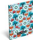 7537 - Notesz papírfedeles A/6 Lollipop Foxy 16405514